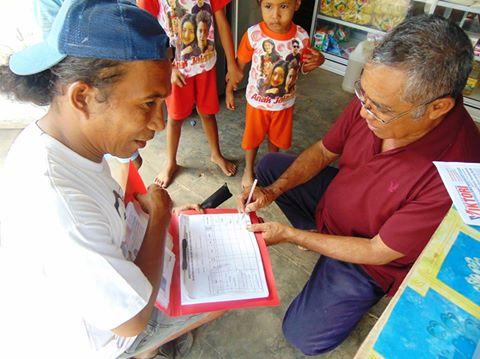 Relawan Kumpul KTP